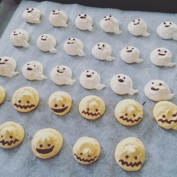 サクサク食感が癖になるメレンゲの焼き菓子は、表情豊かに色々な顔を描いてみてくださいね!もらう側も渡す側も楽しめる焼き菓子レシピです。