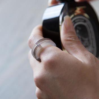 シンプルで柔らかい印象の指輪なので、毎日のデイリーアイテムとして愛用したくなりますね。