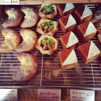 見た目がかわいいパンがたくさん。味の好みはもちろんですが、形で選ぶのもアリかもしれませんね!