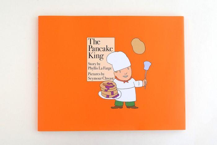 20世紀もっとも影響力のあったデザイングループの一つプッシュピン・スタジオ(Push Pin Studio)の代表的なデザイナー:シーモア・クワストが描く、ポップでカラフルな絵本。パンケーキ狂ヘンリーくんのレシピが評判を呼び、富と名声を得て…というストーリー。