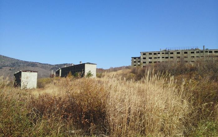 「東洋一」の大鉱山、松尾鉱山の隆盛に伴い、町には集合住宅だけでなく、学校、病院、郵便局など生活に必要なインフラ全てが整えられました。現在でも、多くの学生たちが通った松尾鉱山中学校跡が遺されています。