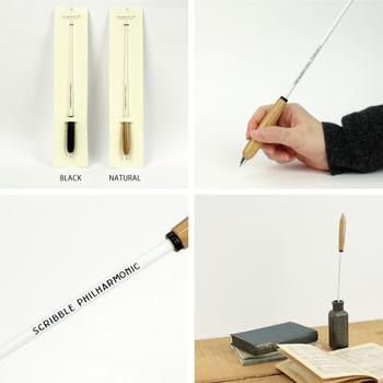 こちらは、指揮棒をモチーフにしたボールペン。音を奏でるように、ペンを走らせたいですね。