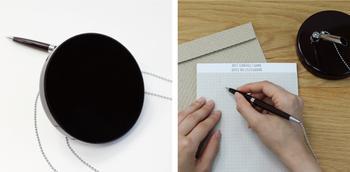 ペンのホルダー部分は360℃回りますので、手に取りやすいのも魅力です。