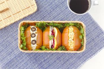 「パンかご」と呼ばれているこちらのお弁当箱は、竹ひごを用いて編まれた、いわゆる籠型のお弁当箱。その名の通り、白竹の清廉な白さにパンやサンドイッチがよく似合います。もちろん、おにぎりを入れてもよし。おしゃれなルックスに、お弁当作りのモチベーションが上がりそうですね。