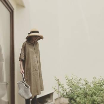 帽子やベルトなど、合わせるアイテム次第でちょっとしたお出かけにも対応できるのがうれしいですね。