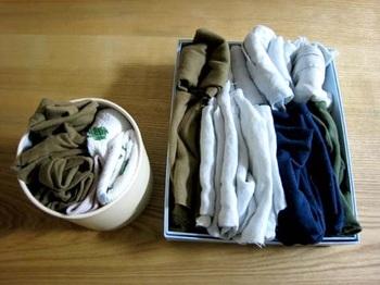 ウェスとは、産業の現場から始まった言葉で、ぼろ布を雑巾として使うこと。 生地がすり切れるまで愛用したTシャツなどは、ウェスとして命を全うさせてあげましょう。