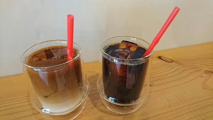 アイスドリンクもコーヒーの香り豊か。すっきりと飲みやすい清涼感に魅了されます。