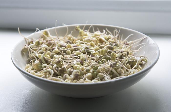 「もやし」 節約食材の王様・もやしも冷凍に向いている野菜のひとつ。茹でてから冷凍すれば、ちょっと使いたい時にパッと取り出して使うことができるので便利!