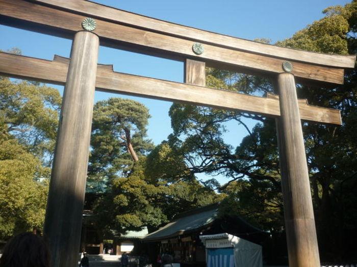 明治天皇と昭憲皇太后を祀る明治神宮。 初詣などの参拝でよく利用される有名な神社です。