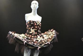 ファッションとチョコレートを融合させたチョコレートファッションショーも行われているんですよ。本場パリの他に、日本など他の国でも開催されるようになりました。