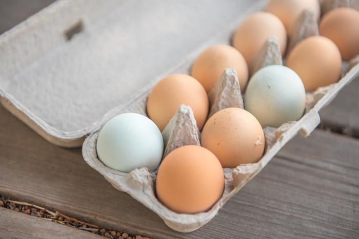 産卵して間もない卵の白身には、二酸化炭素が多く含まれています。二酸化炭素によって膨張した白身は殻に強く張り付くため、茹でた時にきれいに殻が剥けないことが多いのだそうです。白身に含まれる二酸化炭素は、時間が経つにつれ自然に外へ放出されていきます。冷蔵庫で5日ほど保管した卵が、ゆで卵に適しているそうですよ☆