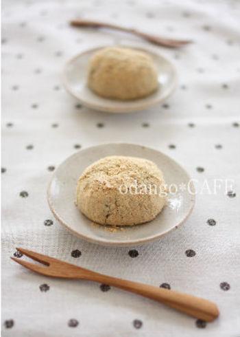 道明寺粉ちあんこをそれぞれ炊いて混ぜるだけのお手軽レシピです。もっと簡単につくりたい方は、市販の粒あんを混ぜてもOK!