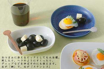 「ユミコ イイホシ ポーセリン」は、磁器作家でありながらプロデュースも出がける「イイホシ ユミコ」氏の陶器ブランド。「黒文字 meshibe」は、花の雌しべをイメージしていて、心がなごむようなかわいいフォルムが特徴です。