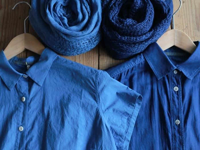 こんなに鮮やかな青に。深い温かみの中に、凛とした美しさを感じます(画像提供:MAITO/真糸)