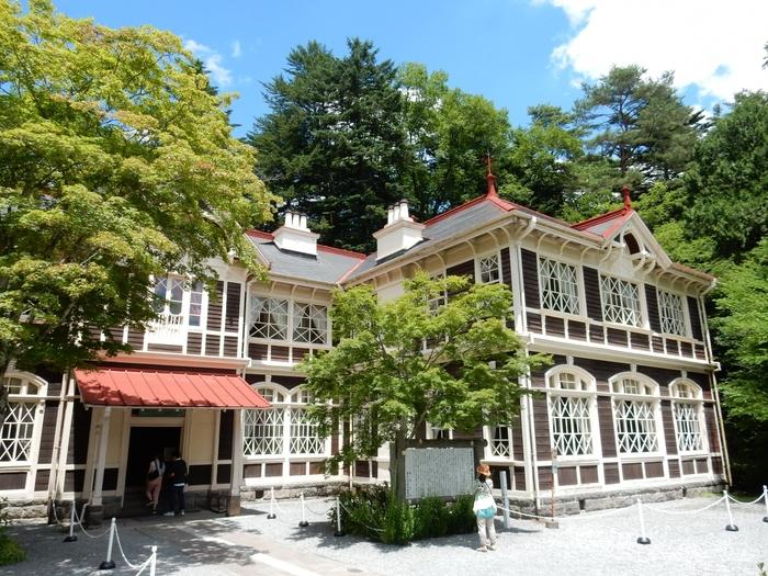1905年に建築された旧三笠ホテルは当時は「軽井沢の鹿鳴館」と言われ、多くの文化人や政財界の要人に愛されてきました。