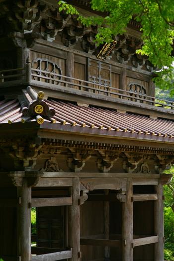 寿福寺から徒歩で8分ほどのところに英勝寺があります。鎌倉唯一の尼寺で、もともとは江戸を開いた太田道灌(どうかん)のお屋敷があったところです。太田道灌の子孫で、徳川家康の側室になったお勝が寛延13年(1636年)に開いたといわれています。