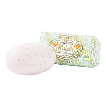 ■クラウスポルト ミニソープ メロディア  毎日使う石鹸はお気に入りの香りを選んで、癒しのリラックスタイムに。肌にほのかな香りが残るタイプの石鹸なので、メロンやピーチ、ジャスミンやバニラなどの心地よい香りをお風呂から上がった後も楽しめます♪