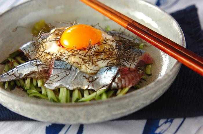 焼酎や日本酒によく合いそうな一品。新鮮なさんまが手に入ったら是非作ってみてください。