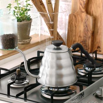 コーヒーを淹れるのに適したお湯の温度は95度前後です。