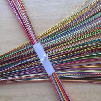 贈り物の包み紙などに使われる装飾のための、紙製の紐のこと。和紙をこより状にひねり、糊で固めたものが一般的です。その上に更に糸を巻きつけることもあります。