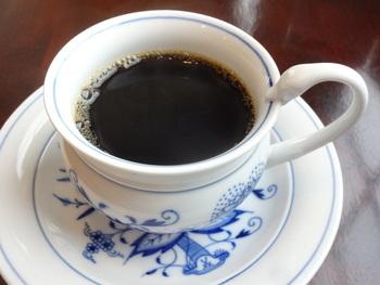 こだわりのストレートコーヒーは、グアテマラをはじめ中米産のコーヒー豆が多めだそう。メニュー表にコーヒーの説明が書かれているので参考に選んでみてくださいね♪