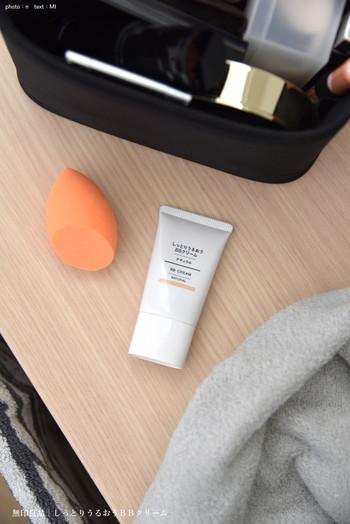 1本で化粧下地・ファンデーション・UVケア・保湿の役割を果たしてくれる、オールインワンのとっても便利なクリームです。ナチュラルに見えるきれい肌をささっと叶えてくれます。