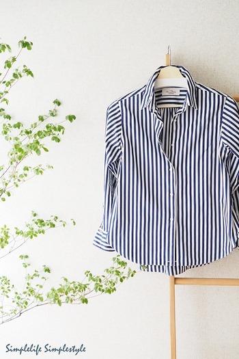 """いつもスッキリ片付いたクローゼットをキープするには、""""無駄な物を増やさない""""のも大事なポイントです。洋服はできるだけ長く愛用したいものですが、時には洋服選びに失敗することもありますよね。お店やネットで気に入って購入しても、着てみるとサイズが合わなかったり、着ているうちに着心地の悪さが気になってタンスにしまいっぱなし…という経験をされている方も多いと思います。"""