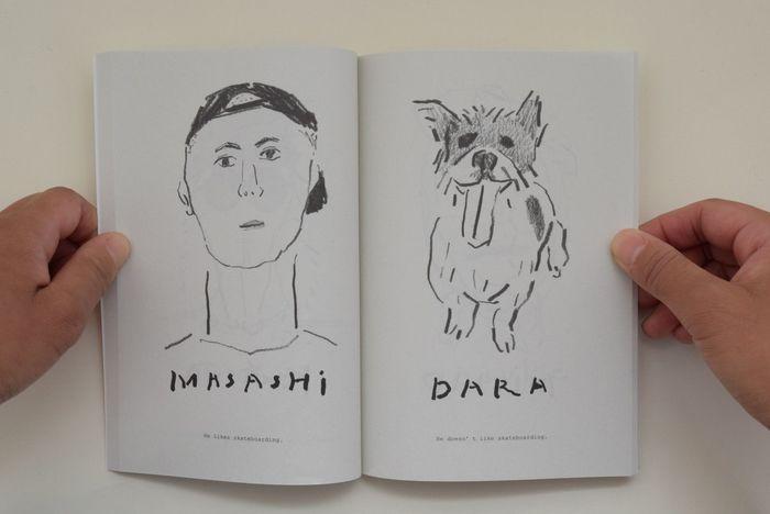 YOU&MEというタイトル通り、人と動物(ペット)のポートレイトが見開きに並びます。塩川いづみのイラストとアルファベットで綴られていく本編。大切な相棒と暮らす人にこそ手に取ってほしいささやかな一冊です。