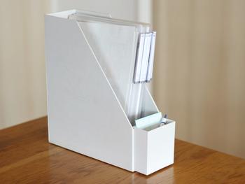 外側に取り付けることもできます。用途に合わせて、色々なサイズもありますので、ますます収納が便利になりますね!
