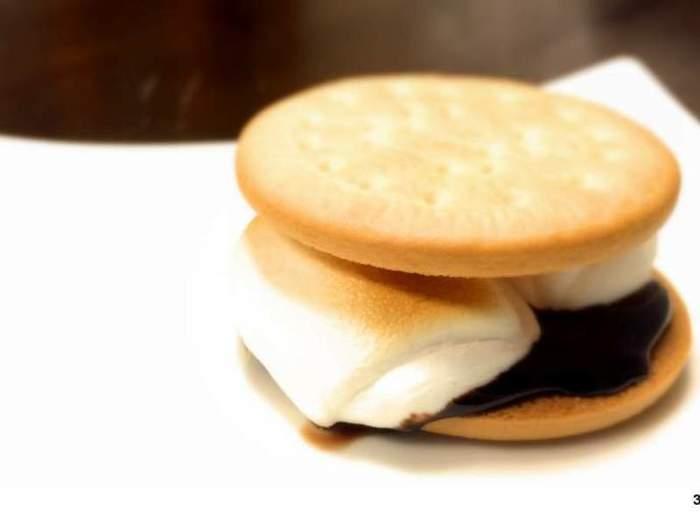 温めたマシュマロとチョコをクラッカーで挟んで食べるスモアはBBQの締めとして定番のデザートです。マシュマロが苦手、という人もスモアならおいしい!と思うかもしれません。
