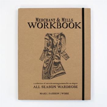 素敵な裁縫道具が揃うマーチャン&ミルズの製品ですが、ソーイング好きに特におすすめしたいのがこの「ワークブック」です。