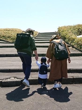 いかがでしたでしょうか?おしゃれで持ちやすいバッグで、カラダもココロも楽しく、家族の時間を過ごせたら素敵ですね♪