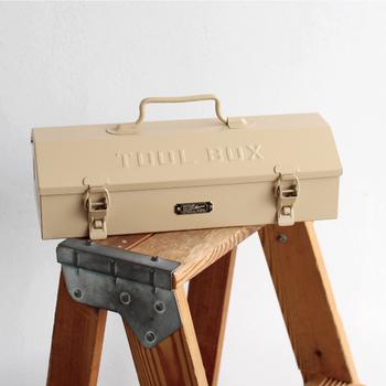 DIYをするなら工具箱にもこだわりたいという人におすすめのカッコいい工具箱。そこにあるだけで存在感があってとてもおしゃれです。