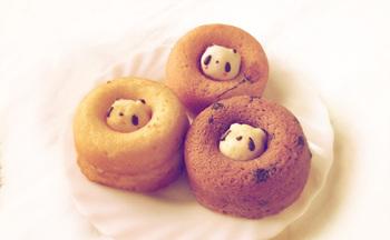 いろいろな味のドーナツに、パンダ以外のかわいい動物も顔をのぞかせているので、ぜひお気に入りのドーナツを探してみてくださいね。