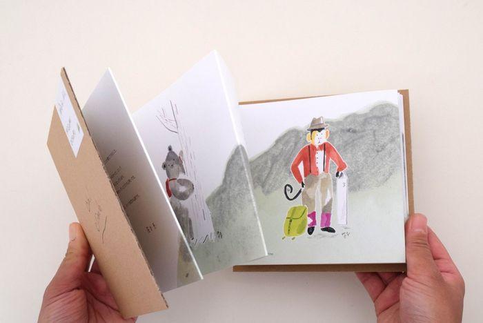 見ていて楽しいイラストに、じゃばら折りの独特のデザインもポイント。 落合恵さんのファンはもちろん、やさしいイラストに癒されたい方にもおすすめです。