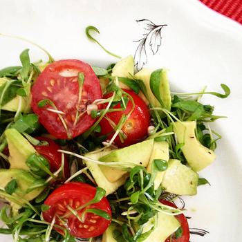 アボカドは、ビタミンE、ビタミンB群、葉酸、などのビタミン、カリウム、鉄、リン、マグネシウム、などのミネラル、食物繊維など栄養がたくさんつまっていることで知られています。脂肪分は多いですが、オレイン酸などの不飽和脂肪酸が主で体に優しいところも魅力。  体に良い効果が期待できる反面、薬を服用している場合には相性が悪いものもありますので事前によく確認しておくようにしましょう。