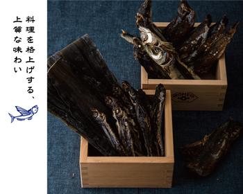 AKOMEYAの「あご出汁」に使用されているのは、大きさもほどよく、料理をより美味しくしてくれる長崎県平戸産のあご。