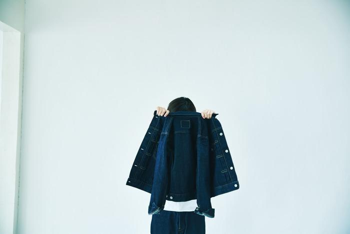 2Pocket Denim Jacket (ワンウォッシュ)
