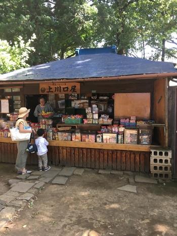 境内には日本最古の駄菓子屋さん「上川口屋」があります。童心にかえって、覗いてみませんか?懐かしいあの味が見つかるかもしれませんよ。