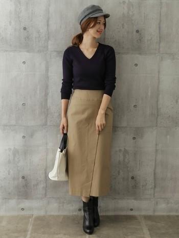 布を重ね合わせた上品なデザインが人気の「ラップスカート(巻きスカート)」。 カジュアルやフェミニンスタイルはもちろん、デニムと重ねてレイヤードスタイルも楽しめる万能アイテムです。 今回はそんな「ラップスカート」の作り方を紹介した動画と、秋冬ファッションのヒントにしたくなる素敵なコーディネートをご紹介します♪