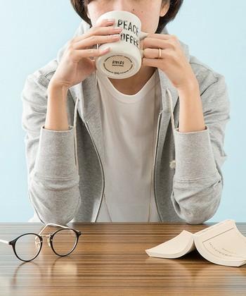 飲み終わったあとに、ほっと笑顔になれる、幸せデザインのカップたち。自分はもちろん、お客様にだって喜ばれるはずです。ほっと一息ついてみませんか?