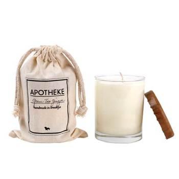 ■SOYCANDLE アポテーケ ソイキャンドル  調合から生産、パッケージまでひとつひとつハンドメイドでおこなう『アポテーケ』のキャンドル。芯にワックスコーディングされ、こちらも煙の出にくいキャンドルなのでアロマタイムにぴったり。