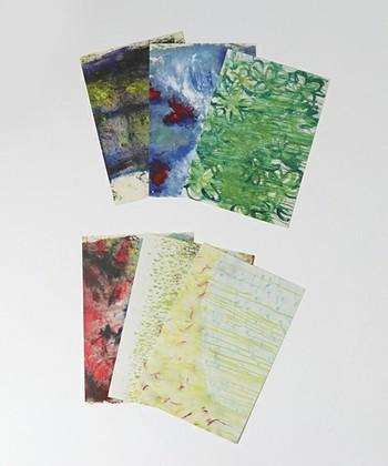 ▪️大宮エリー ポストカードセットA(ステーショナリー)  同じく、TOKYO CULTUART by BEAMSのポストカード。映画監督としても知られる大宮エリーさんの彩色豊かなポストカードは、まさに美しい絵画です。