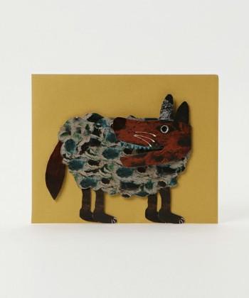 ▪️collex colobockle/コロボックル  絵本作家の、たちもとみちこさんがデザインする作品「colobockle」のグリーティングカード。ユニークな世界観で描かれる生き物は、子どもから大人まで幅広く人気です。