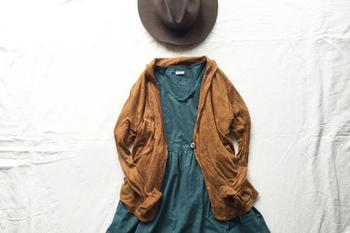 注目の秋色3大カラー♪『パープル・ディープグリーン・チョコブラウン』の配色コーデレッスン