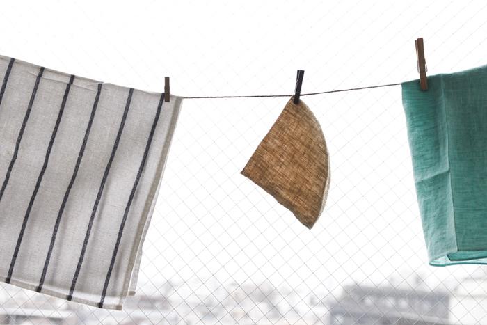 使い捨てがもったいないという人には、布フィルターなら洗ってまた使うことができますよ。ネルドリップと呼ばれる方法です。こちらはリネン100%のフィルター。洗い替えを常備しておくようにすると毎日使う時に安心ですね。