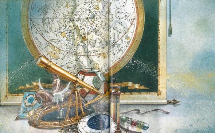 幻想的な世界が広がります。想像力がかきたてられますね。
