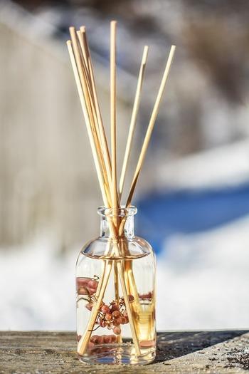 香りは視覚や味覚よりも記憶に残ると言われています。来客の多い時期、お部屋の香りで印象もかわりますよね。