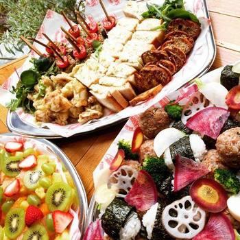 三軒茶屋にあるマルノワ。ボリュームとスタミナたっぷりの塊肉料理と体に優しいオーガニック野菜が楽しめるメニューが勢ぞろい!食いしん坊の多い会にはもってこいです。