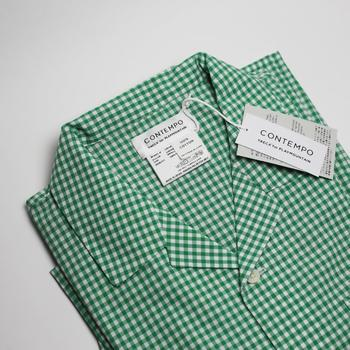 お泊りのお客様にはYAECAのパジャマを準備すれば、すっかりホテル気分でくつろいでもらえそう。ランドスケーププロダクツとの共同制作のパジャマは、リラックスできるシルエットのユニセックス。お客様用パジャマとして重宝しそう。